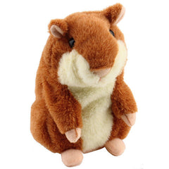 Lovely  Talking Hamster Plush Toy Hot Cute Speak Talking Sound Record Hamster - BoardwalkBuy - 4
