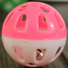 Tinkle Bell Ball  Toy Plastic  Cat Playing Ball