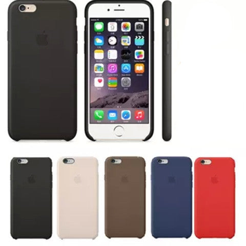 Leather Coated Hard Case for iPhone 6 Plus - BoardwalkBuy - 1