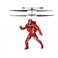 Marvel or DC Comics Flying Figure Feel Control Helicopter - BoardwalkBuy - 4