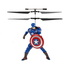 Marvel or DC Comics Flying Figure Feel Control Helicopter - BoardwalkBuy - 3