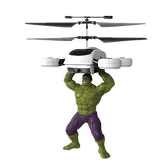 Marvel or DC Comics Flying Figure Feel Control Helicopter - BoardwalkBuy - 6