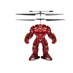 Marvel or DC Comics Flying Figure Feel Control Helicopter - BoardwalkBuy - 7