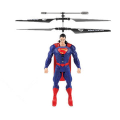 Marvel or DC Comics Flying Figure Feel Control Helicopter - BoardwalkBuy - 5