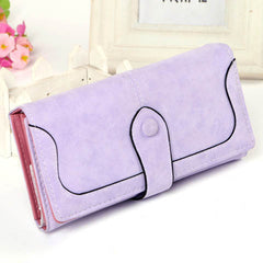 Matte Stitching Wallet Handbag - BoardwalkBuy - 10