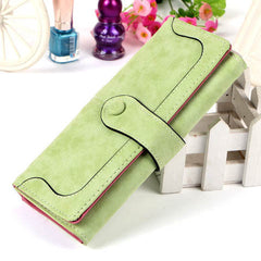 Matte Stitching Wallet Handbag - BoardwalkBuy - 12