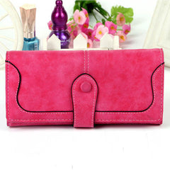 Matte Stitching Wallet Handbag - BoardwalkBuy - 2