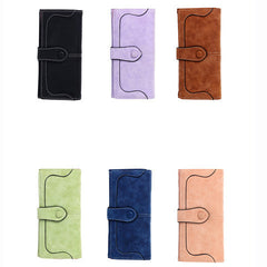 Matte Stitching Wallet Handbag - BoardwalkBuy - 5