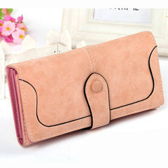 Matte Stitching Wallet Handbag - BoardwalkBuy - 6