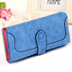 Matte Stitching Wallet Handbag - BoardwalkBuy - 8