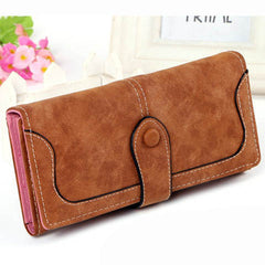 Matte Stitching Wallet Handbag - BoardwalkBuy - 11