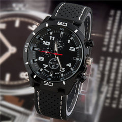 Men Sport String Silicone Band Watch - BoardwalkBuy - 3