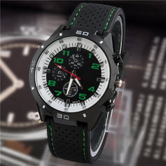 Men Sport String Silicone Band Watch - BoardwalkBuy - 5