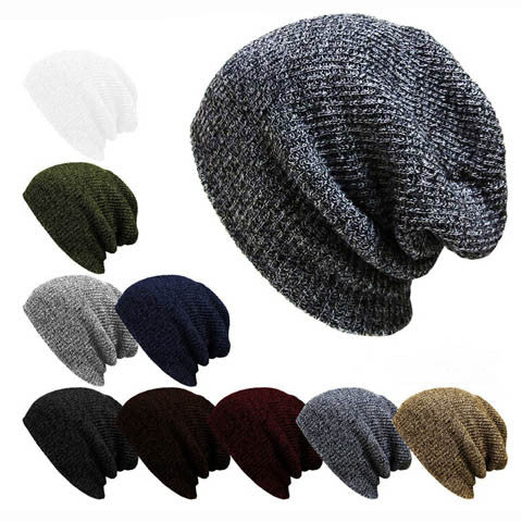 Mens Winter Beanies Knit Hat