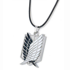 Metal Anime Attack on Titan Wings of Liberty Pendant Necklace - BoardwalkBuy - 3