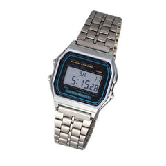 Metal Band Electronic Watch - BoardwalkBuy - 3