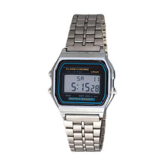 Metal Band Electronic Watch - BoardwalkBuy - 4