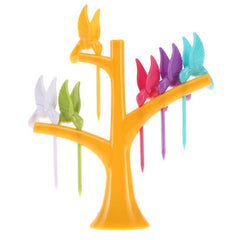Multi Function Tree Shape Flying Bird Forks Holder - BoardwalkBuy - 6