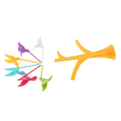 Multi Function Tree Shape Flying Bird Forks Holder - BoardwalkBuy - 3