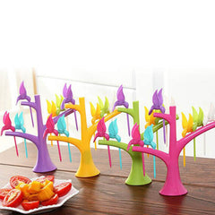Multi Function Tree Shape Flying Bird Forks Holder - BoardwalkBuy - 2