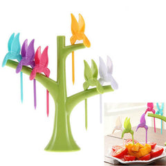Multi Function Tree Shape Flying Bird Forks Holder - BoardwalkBuy - 4