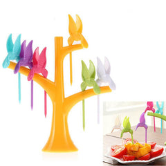 Multi Function Tree Shape Flying Bird Forks Holder - BoardwalkBuy - 5