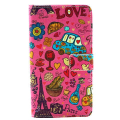 Leather Wallet Case for Samsung Note 4 - BoardwalkBuy - 3
