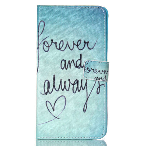 Forever Stand Leather Case For Samsung note4 - BoardwalkBuy - 1