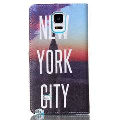 New York Stand Leather Case For Samsung note4 - BoardwalkBuy - 4