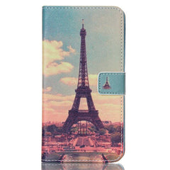 Paris Stand Leather Case For Samsung note4 - BoardwalkBuy - 1