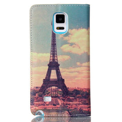 Paris Stand Leather Case For Samsung note4 - BoardwalkBuy - 4