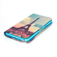 Paris Stand Leather Case For Samsung note4 - BoardwalkBuy - 2