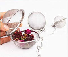 Stainless Steel Metal Tea Ball Infuser - BoardwalkBuy - 2