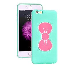 Bowknot Stand TPU Case for iPhone 6 Plus - BoardwalkBuy - 2