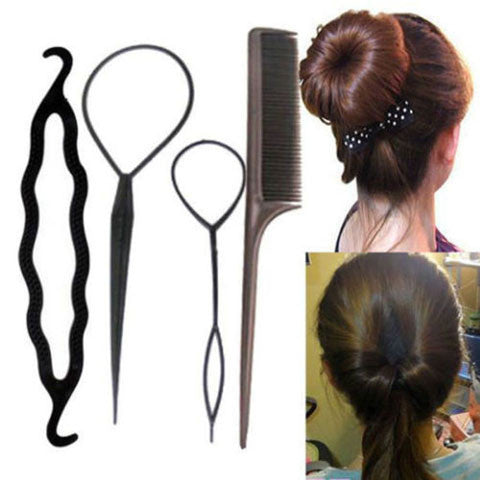 Hair Twist Styling Clip Stick Set