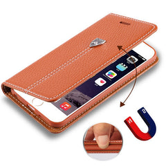 Lychee Wallet Case for iPhone 6 Plus - BoardwalkBuy - 2