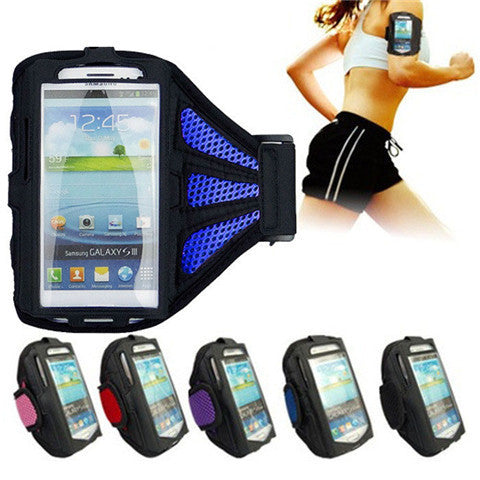 Meshy Armband Case for Samsung S6 - BoardwalkBuy - 1
