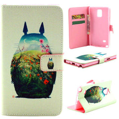 Side Flip Leather Case for Samsung Note 4 - BoardwalkBuy - 1