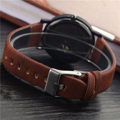 Wood PU Leather Neutral Watches - BoardwalkBuy - 10
