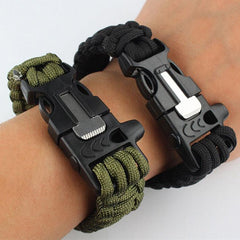 Outdoor 5 in 1 Survival Rescue Bracelet Rope with Compass - BoardwalkBuy - 3