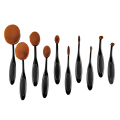 10 Piece Oval Brush Set - BoardwalkBuy - 2