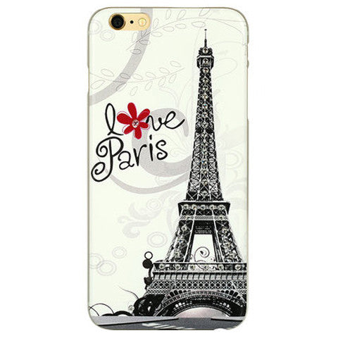 Eiffel Tower Bling Case for iPhone 6 Plus - BoardwalkBuy