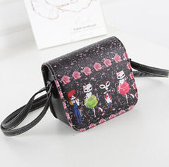 PU Leather Print Shoulder Handbag - BoardwalkBuy - 4