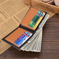PU Leather Short Style Men Wallets - BoardwalkBuy - 5