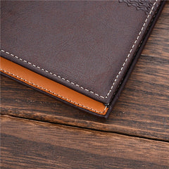 PU Leather Short Style Men Wallets - BoardwalkBuy - 7