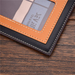 PU Leather Short Style Men Wallets - BoardwalkBuy - 9