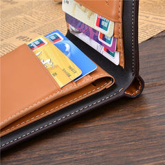 PU Leather Short Style Men Wallets - BoardwalkBuy - 15