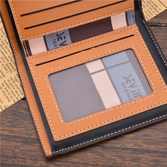 PU Leather Short Style Men Wallets - BoardwalkBuy - 17