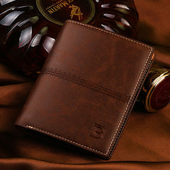 PU Leather Short Style Men Wallets - BoardwalkBuy - 10