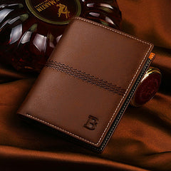 PU Leather Short Style Men Wallets - BoardwalkBuy - 18